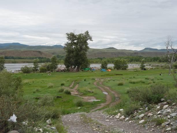 Сплав в Западном Саяне и Тыве по рекам Улуг-О и Бий-Хем