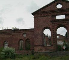 руины кирхи в Яккима
