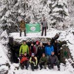 7-й ежегодный поход на Линию Маннергейма. 25-26 ноября