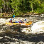 28 июня — 7 июля. Лопляне и Жемчюг. По реке Кереть в Белое море.